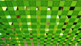 Зеленая сеть безопасности на спортивной площадке ребенк Стоковые Фото
