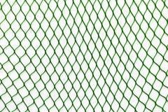 Зеленая сеть на белой предпосылке Стоковое Фото