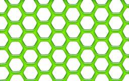 зеленая сеть студня Стоковая Фотография RF