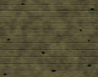 зеленая стена деревянная Стоковые Изображения RF