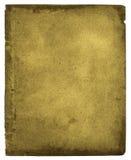 зеленая страница Стоковые Фотографии RF