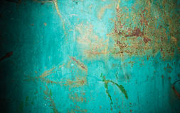 Зеленая текстура металла Стоковые Изображения RF