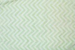 Зеленая текстура полотенца, взгляд сверху стоковые изображения rf