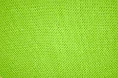 зеленая текстура wollen Стоковые Фотографии RF