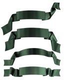 зеленая тесемка Стоковые Изображения RF