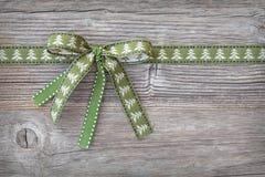 Зеленая тесемка Стоковая Фотография RF