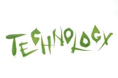 зеленая технология Стоковые Фотографии RF