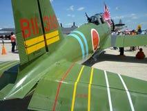 зеленая торпеда плоскости nakajima kate Стоковое Фото