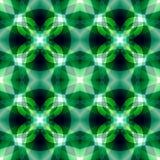 Зеленая черная сияющая абстрактная текстура Изумрудная безшовная плитка Картина печати ткани Детальная иллюстрация предпосылки До Стоковая Фотография