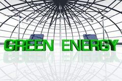 Зеленая энергия Стоковое Изображение