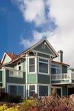 зеленая дом Стоковое фото RF