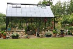 зеленая дом Стоковое Изображение RF