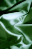 зеленая silk текстура Стоковые Изображения