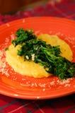 зеленеет нежность polenta Стоковые Изображения RF