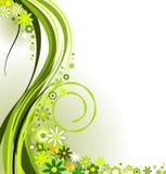 зеленое весеннее время Стоковое Изображение RF