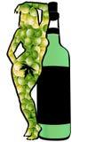 зеленое вино Стоковые Фото