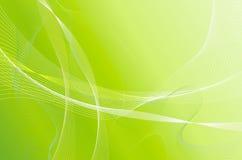 зеленое волнистое Стоковое Изображение