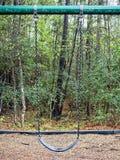 Зеленое качание в парке полесья TX стоковые фотографии rf