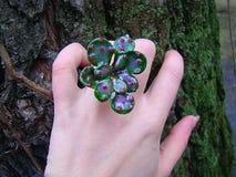 Зеленое кольцо русалки Стоковое фото RF