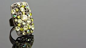 зеленое кольцо Стоковая Фотография