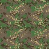 Зеленое, коричневое и бежевое camo бесплатная иллюстрация