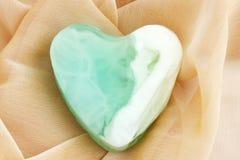 зеленое мыло Стоковое Фото