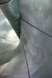 зеленое пластичное скольжение Стоковая Фотография