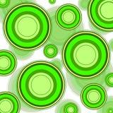зеленое ретро Стоковое Фото