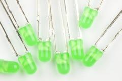 Зеленое СИД Стоковая Фотография