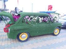 Зеленое такси стоковые изображения rf