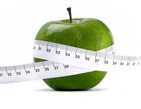 Зеленое яблоко Стоковые Изображения