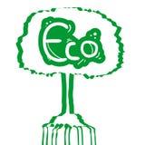 Зеленое дерево Стоковые Фотографии RF