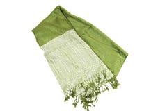 зеленое scraf Стоковые Фотографии RF