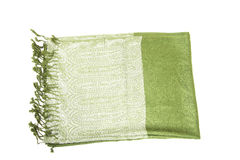 зеленое scraf Стоковые Изображения RF