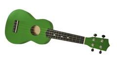 зеленое ukelele Стоковые Фотографии RF