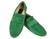 зеленые ботинки Стоковое Изображение RF