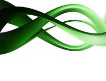 зеленые волны Стоковое Изображение