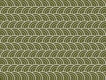 зеленые волны Стоковое фото RF