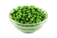 зеленые горохи Стоковые Фото