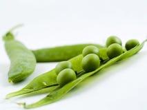 зеленые горохи Стоковое Изображение RF