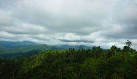 Зеленые горы penang Малайзия стоковое фото rf