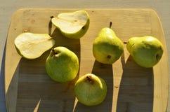 Зеленые груши Bartlett Стоковая Фотография RF