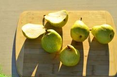 Зеленые груши Bartlett Стоковое Изображение RF
