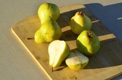 Зеленые груши Bartlett Стоковое Изображение
