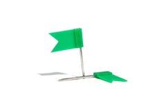 зеленые канцелярские товар стоковое изображение rf