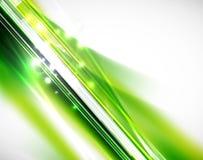 Зеленые линии предпосылка Стоковое Изображение