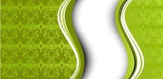 зеленые обои картины Стоковое Изображение RF