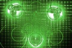 зеленые обои Стоковое Фото