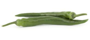Зеленые перцы Стоковая Фотография