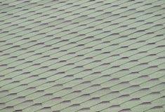 зеленые плитки крыши Стоковые Изображения